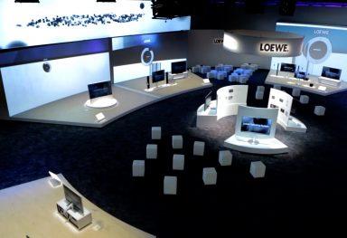 Loewe auf der IFA in Berlin
