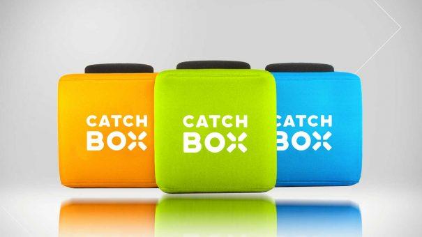 Catchbox werfbares Mikrofon