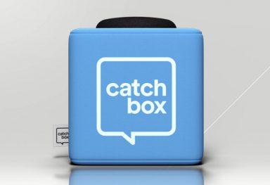 Catchbox bei Kopfquadrat