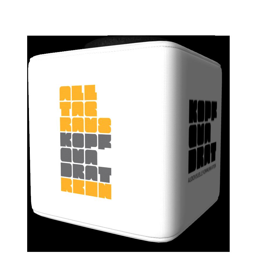 die Standard-Catchbox mit individuellen Logos